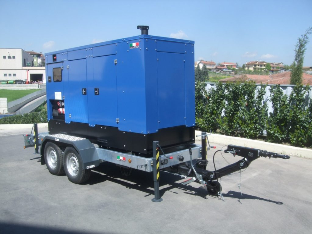 Trailers for generators